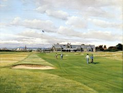 Royal Troon 18th Hole, Scotland.