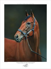 American Pharoah Officially Licensed Dual Signed Limited Edition Print