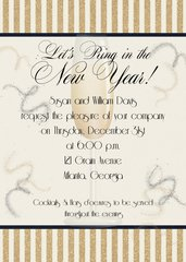 Let's Ring in The New Year Invitation