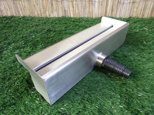 500mm Water Blade 60mm Spout Back Inlet Water Blades