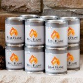 Real Flame Gel Fuel - 12 Pack