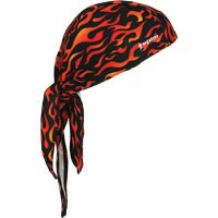 SEC678 Chill-Its® 6615 Cooling Dew Rags FLAMES #12485 ERGODYNE