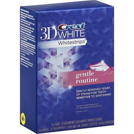 Отбеливающие полоски Crest 3D White купить в Go-smile