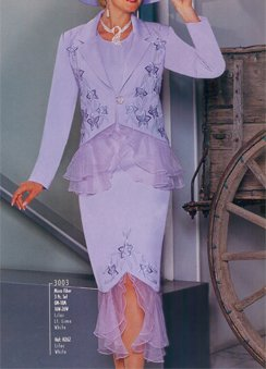 Frilly Suit (Item#:fpi-3003)