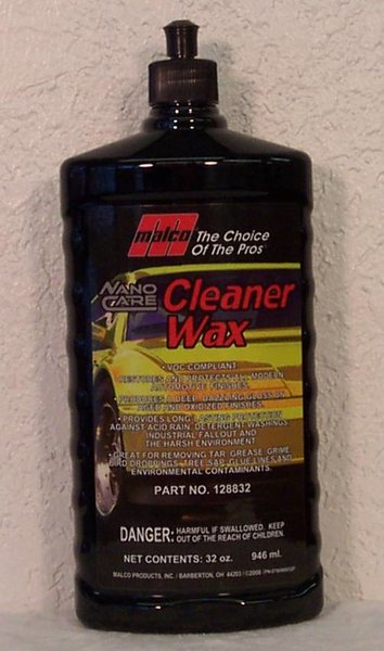 Malco Nano Cleaner Wax Flash Auto Detailing Products