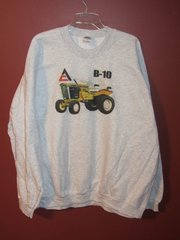 ALLIS CHALMERS B10 GARDEN TRACTOR SWEAT SHIRT