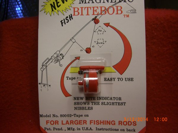 Bitebob bite bob magnetic fishing alert 2 sizes for Magnet fishing tips