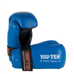 TOP TEN Point Fighter Gloves Blue