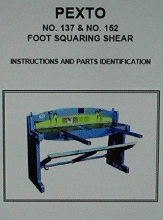 Pexto No 137 Amp No 152 Foot Shear New And Used Machinery
