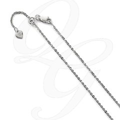 "22"" Adjustable Sterling Silver Chain"