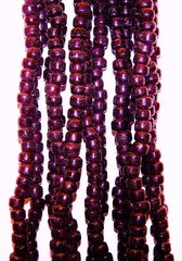 Crow Beads - Dark Purple