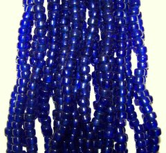 Crow Beads - Dark Blue