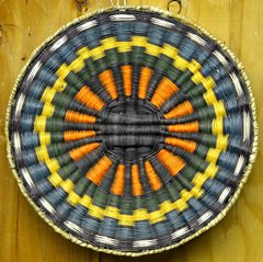 Hand Woven Hopi Wicker Basket -Large