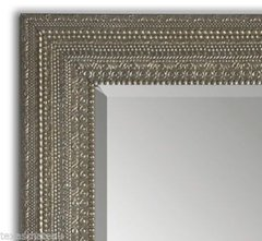 LARGE ANTIQUE SILVER MOROCCAN FULL LENGTH WALL MIRROR DRESSING FLOOR LEANER NEW