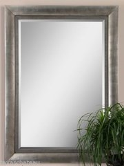 "86"" XL LARGE ANTIQUE SILVER LEAF MIRROR FULL LENGTH DRESSING WALL TRANSITIONAL"