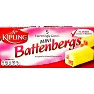 Mr Kipling Battenburg Cakes - out of stock until early 2017
