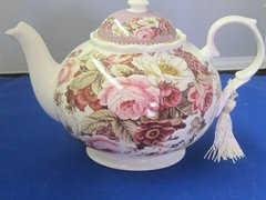 Summer Roses Floral Tea Pot - 6 cup (Gift Boxed)