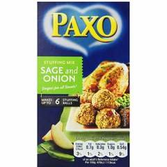 Paxo Sage and Onion Stuffing Mix