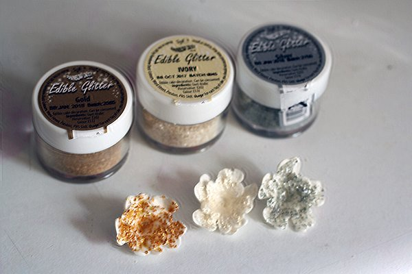 GOLD Rainbow Dust Edible Glitter, 5g for cake decorating, cupcake decorating, cookies