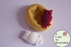 "1"" owl silicone mold for cake pops and cupcakes M5151"