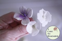 Gumpaste hydrangea tutorial for cake decorating-PDF download