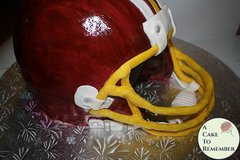 Football helmet cake tutorial- PDF download
