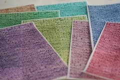"3 full sheets knit patterned printed wafer paper for cake decorating. 8"" x 10.5"" edible paper prints"