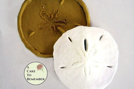 Silicone sand dollar mold A Cake To Remember LLC