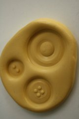 SLIGHTLY IMPERFECT Three button mold