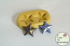 Star silicone mold, star mold for decorating cupcakes,  promotion parties M5090