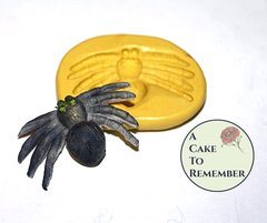 Silicone Spider Mold for cake decorating, chocolate, hard candy, polymer clay, resin mold. M027