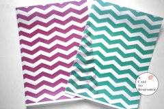 3 full sheets chevron printed wafer paper (choose one color) for cake decorating or cupcake decorating. Edible paper prints