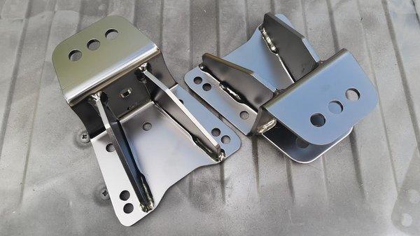 Lift leaf spring hanger front of rear spring cummins ramcharger archive garage shackle flips