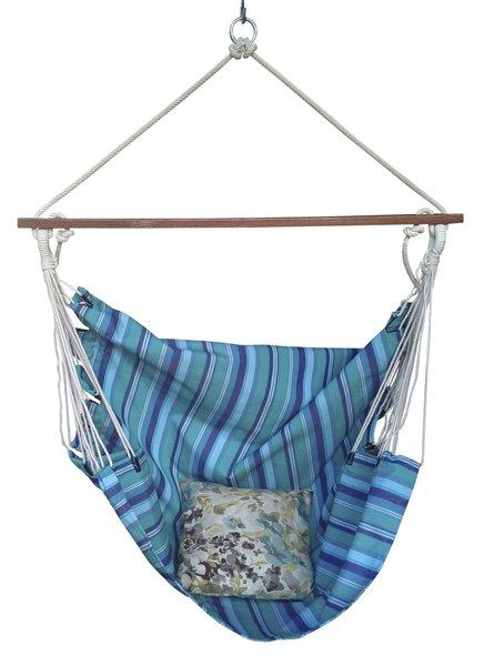 Hammock chairs swing hammocks in for Fabric hammock chair swing