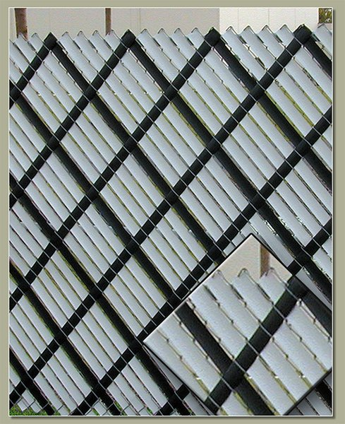 Aluminum privacy slats foot wholesale vinyl wood