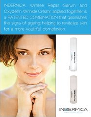 Oxyderm Wrinkle Cream with the Wrinkle Repair Serum (US Patent)