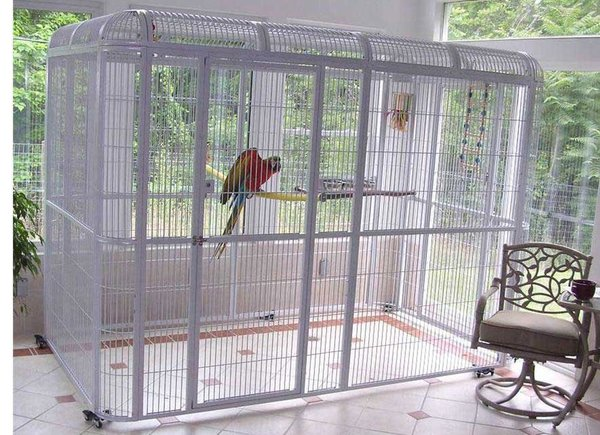 Walk In Aviary Parrot Flight Cage By Centurion Cages And