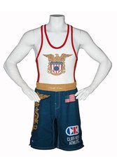 Cliff Keen Sublimated Fight Shorts