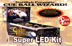 2. CUE BALL WIZARD  LED Kit w Super LEDs