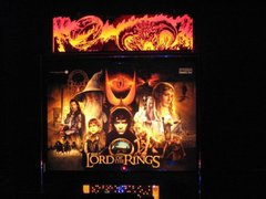 LORD OF THE RINGS PINBALL TOPPER