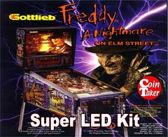 2. NIGHTMARE ON ELM STREET LED Kit w Super LEDs