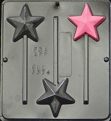 Star Lollipop Chocolate Craft Candy Mold