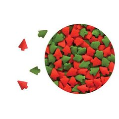 Red and Green Trees Sprinkles 2.6 oz