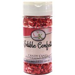 Candy Cane Sprinkles 2.4 oz