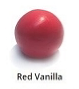 Red Vanilla Rolled Fondant Icing Satin Ice 2 lb.