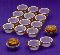 12 Count Disposable Cupcake Muffin Tray