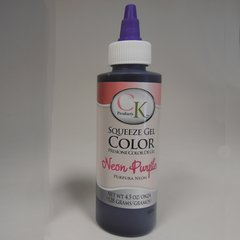 Neon Purple Gel Food Coloring 4.5 oz