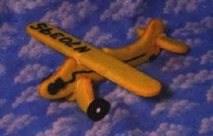 Airplane Tail Dragger 3D Cookie Cutter Set