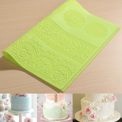 Rose Lace Silicone Mat