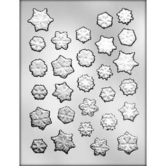 Snowflake Assortment Chocolate Craft Candy Mold